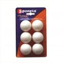 Míčky na stolní tenis SPONETA Leisure * 6ks