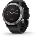 Fenix 6 Glass Silver Black band GARMIN