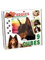 Skládací obrázkové kostky Puppies