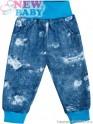 Kojenecké tepláčky s kapsami New Baby Light Jeansbaby modré 80 (9-12m)