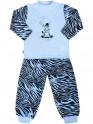 Dětské bavlněné pyžamo New Baby Zebra s balónkem modré 86 (12-18m)