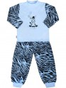 Dětské bavlněné pyžamo New Baby Zebra s balónkem modré 92 (18-24m)
