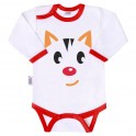 Body s potiskem New Baby Animals kočička 80 (9-12m)