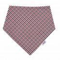 Kojenecký šátek na krk New Baby Checkered Univerzální