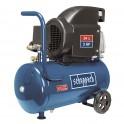 Scheppach HC 26 olejový kompresor 24 l + PRODLOUŽENÁ ZÁRUKA 48 MĚSÍCŮ