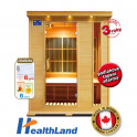 Healthland DeLuxe 3003 Carbon + PRODLOUŽENÁ ZÁRUKA 36 MĚSÍCŮ
