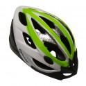Cyklo přilba MASTER Force - M - zeleno-bílá