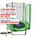 SET trampolína MASTERJUMP 244 cm + ochranná síť vnější