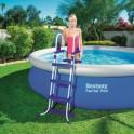 Schůdky do bazénu s výškou 107 cm - bezpečnostní