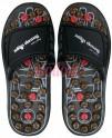 SJH 314A - Akupresurní masážní pantofle suché zipy (nanotextilie s magnety)