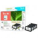 Inkoust Peach CN045,6,7,8AE, No.950XL Combi Pack kompatibilní barevné+černý PI300-380 pro HP OfficeJet Pro 8600 (1x2800,