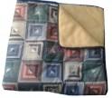 MR 4 - Denní deka PATCHWORK/MERINO 140cm x 200cm