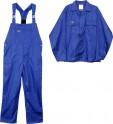 Pracovní oděv, kalhoty s laclem, blůza vel. S