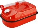 Extol Premium kanystr ocelový na benzín, 10l, s hubicí a upouštěcím ventilem, 8863205