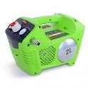 Greenworks GWCO 40 - aku bezolejový kompresor
