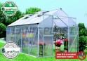 LanitPlast skleník LANITPLAST PLUGIN 8x12 stříbrný