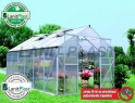 LanitPlast skleník LANITPLAST PLUGIN 8x14 stříbrný