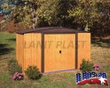 LanitPlast zahradní domek ARROW WOODLAKE 108 + PRODLOUŽENÁ ZÁRUKA 120 MĚSÍCŮ