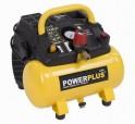 PowerPlus POWX1721 - Kompresor bezolejový + PRODLOUŽENÁ ZÁRUKA 36 MĚSÍCŮ