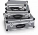 Varo PRM10120 - Sada hliníkových kufrů 3 v 1