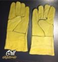 Penzo Grilovací rukavice - žlutá (pár)