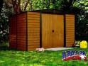 LanitPlast zahradní domek ARROW EURO DALLAS 1012 + PRODLOUŽENÁ ZÁRUKA 120 MĚSÍCŮ