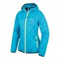 Dámská sportovní péřová bunda | Form L - sv. modrá - S