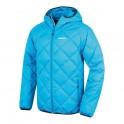 Pánská sportovní péřová bunda | Form M - modrá - XL