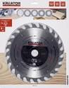 Kreator KRT021350 - pilový kotouč na dřevo 254 mm, 24 Z