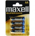LR6 4BP AA Super Alk MAXELL