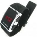 Silikonové LED hodinky digitální TH032002