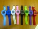 Silikonové hodinky digitální JELLY-DIGIW