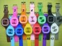 Silikonové hodinky analogové JELLY-WATCH