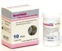 Pásky pro měření cholesterolu 10 kusů BKP-C-S002