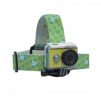 Xiaomi YI držák na hlavu pro kameru Green Yellow  4969e4647e