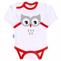 Body s potiskem New Baby Animals sova 80 (9-12m)